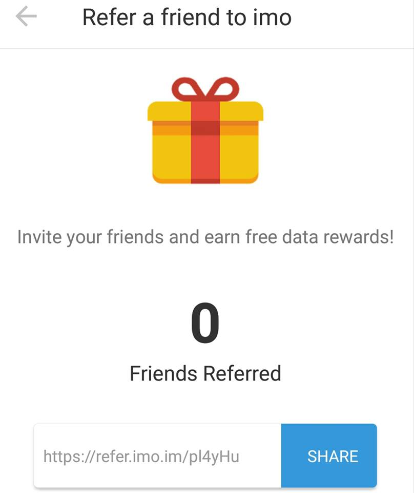 Refer a Friend to Imo