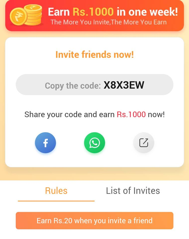 UC Browser Refer Earn: Get Rs 10 Joining Bonus + Rs 20 For Invite