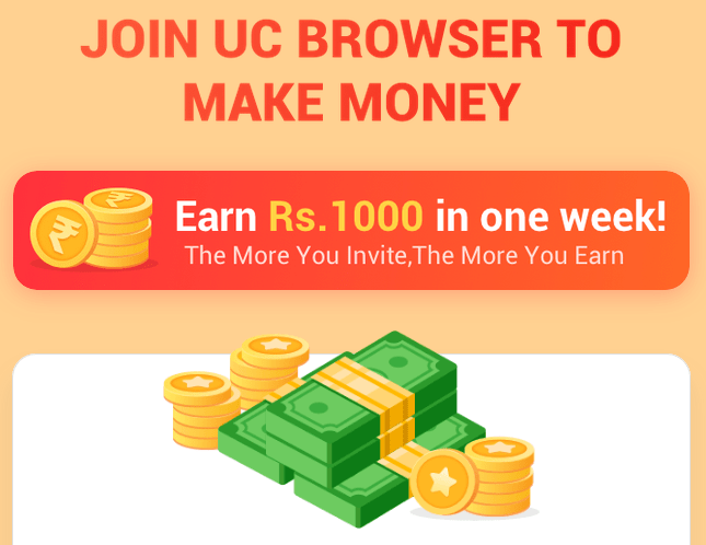 UC Browser Refer Earn