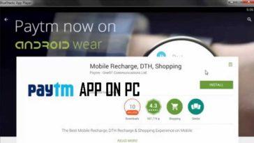 Paytm App On PC