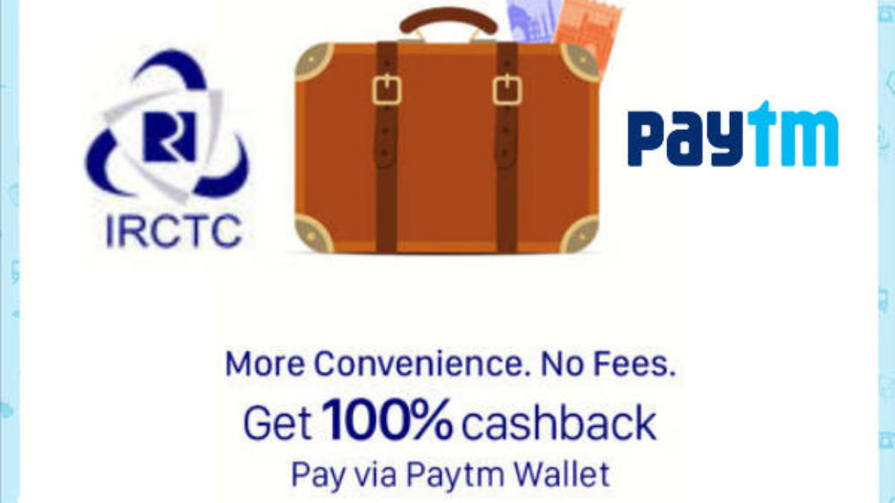 Paytm Train Ticket IRCTC Booking Offers Coupon & Promocode