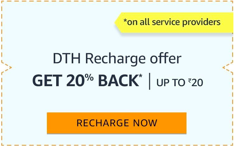 Amazon Pay DTH recharge Offers