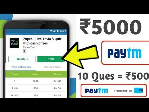 Zupee Mobile Quiz apps