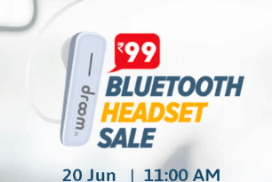 Droom Flash Sale Bluetooth Headset