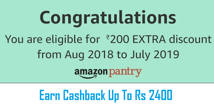 Amazon Pantry Offer Code