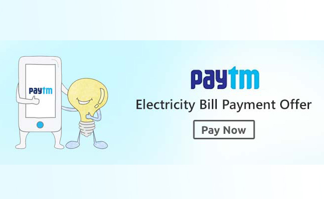 Paytm Electricity bill payment offer