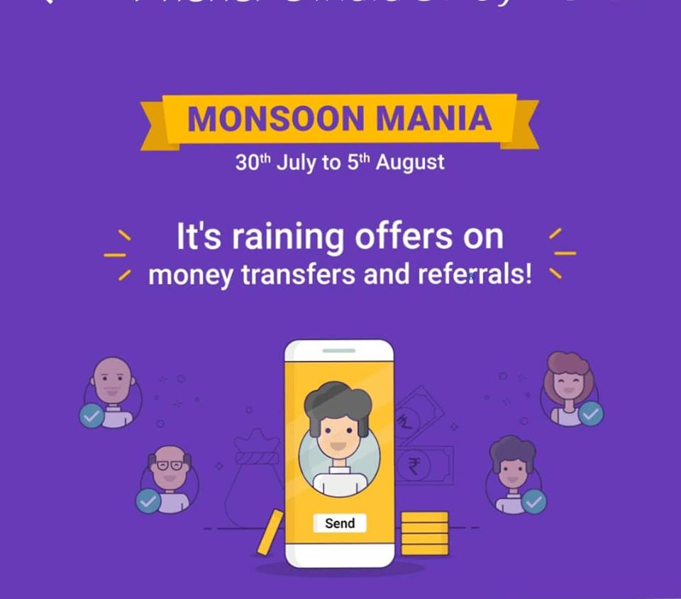 PhonePe Monsoon Mania Offer