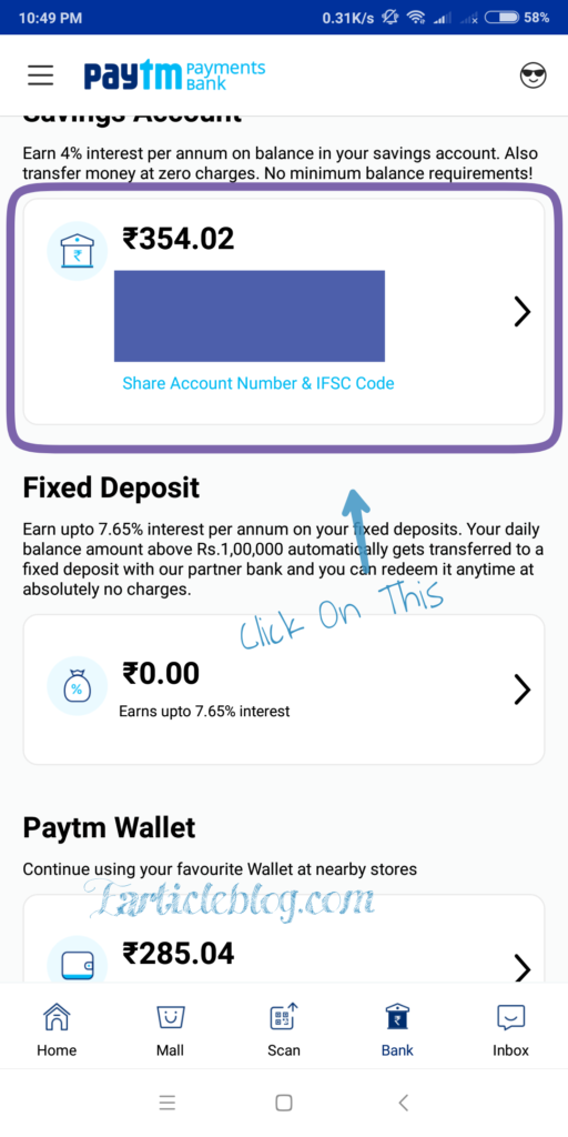Transfer Credit Card Money To indian Bank Account