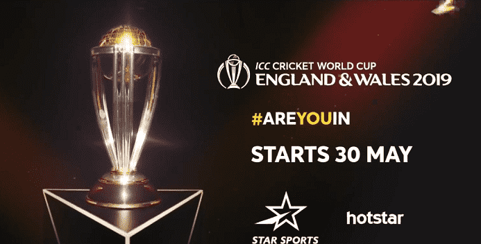 World Cup 2019 on Hotstar for PC