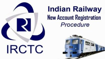 irctc create account sign up