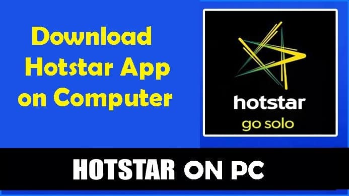 FREE Hotstar Download For PC, Windows 10/7/8 Laptop