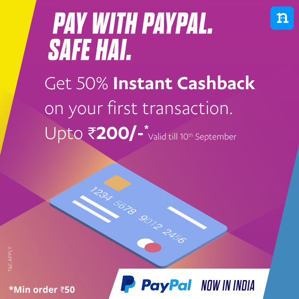 Paypal Niki Jio Recharge Offer