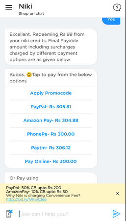 niki jio paypal rechareg offer