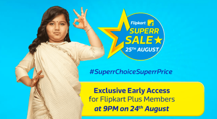 Flipkart super sale offer