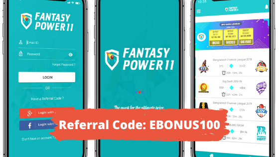 Fantasy Power 11 Refer Code