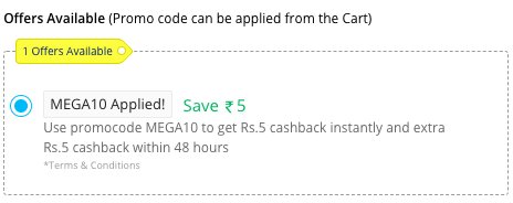 Halidram cash back offer