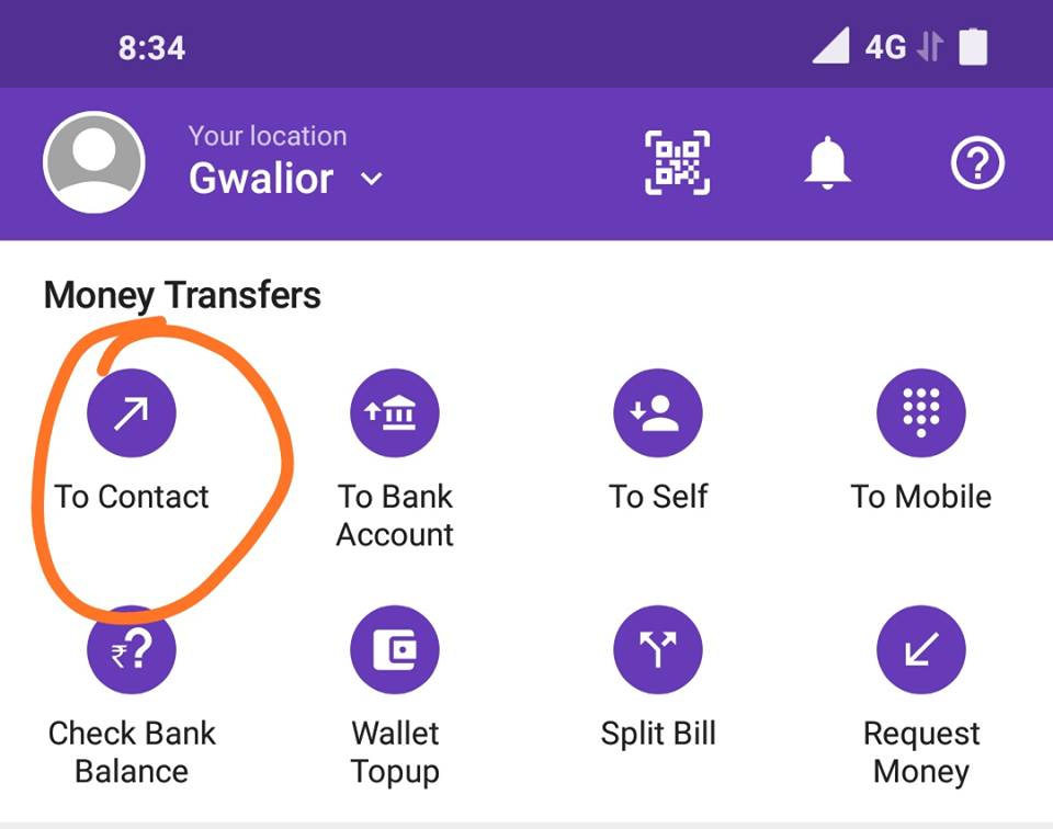 Phonepe UPI Offer