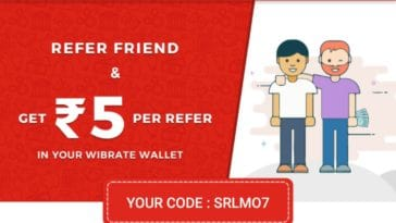 wibrate app referral link