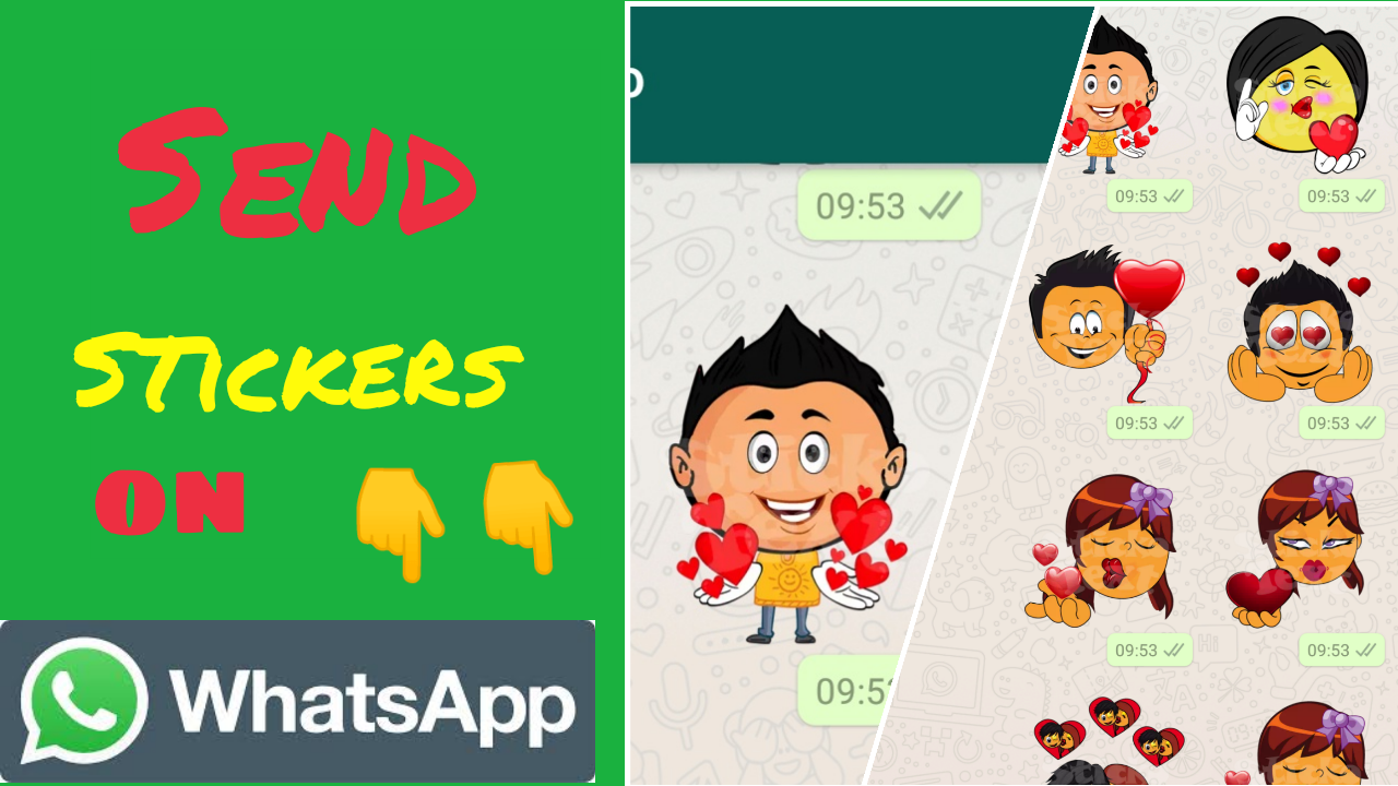 How to Send Stickers On WhatsApp