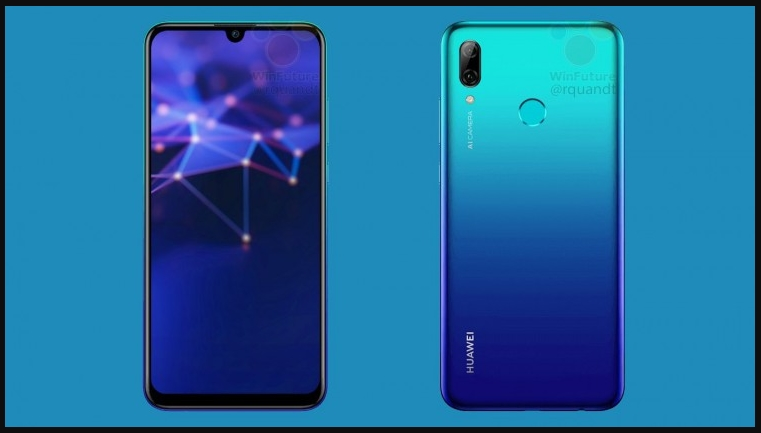 Huawei P Smart 2019 Smartphone With Dewdrop Display Launched
