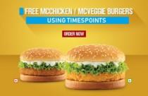 Free McChicken McVeggie Burger