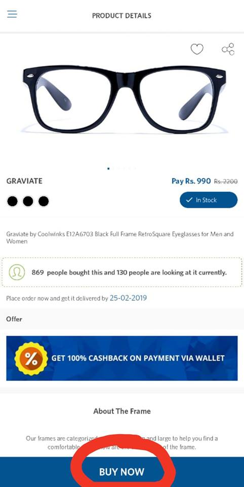coolwinks paytm offer