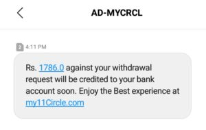my11circle payment withdrawal