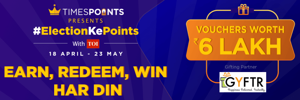 Timespoint Electionkepoints Offer