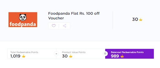 foodpanda flat 100 off voucher