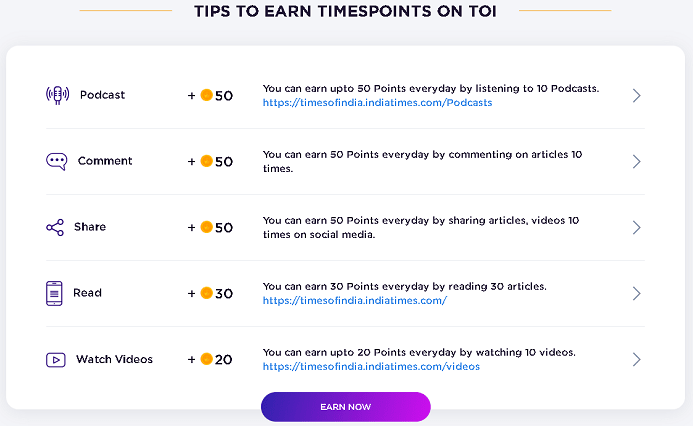 tips tricks to earn timespoints-min