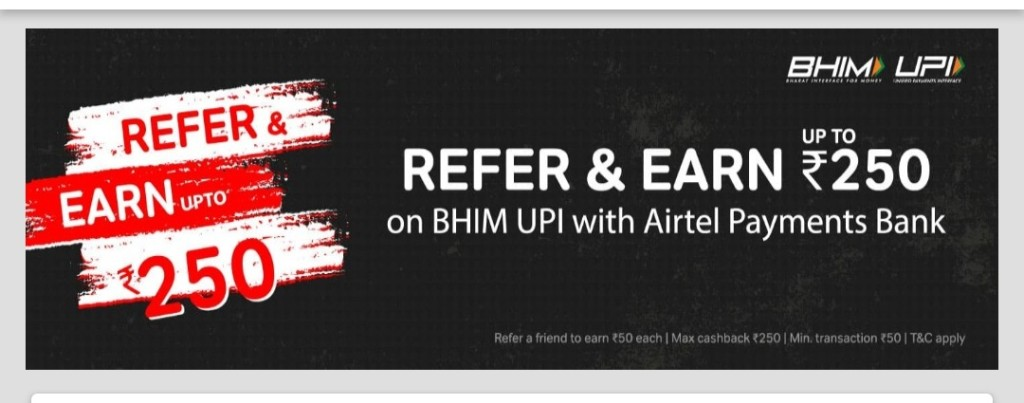 airtel refer and earn offer