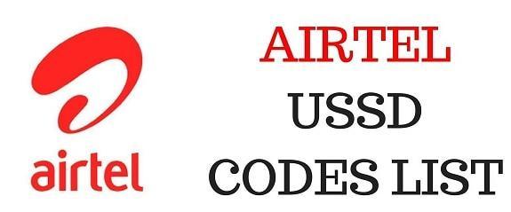 Airtel USSD Codes 2020