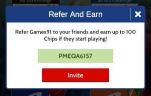 Referral code PMEQA6157