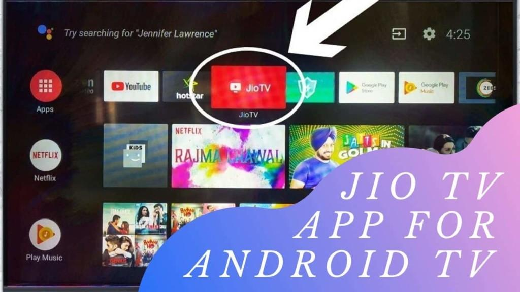Jio TV App for Android TV