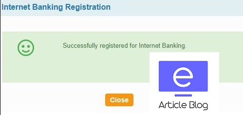 sbi online net banking login first time