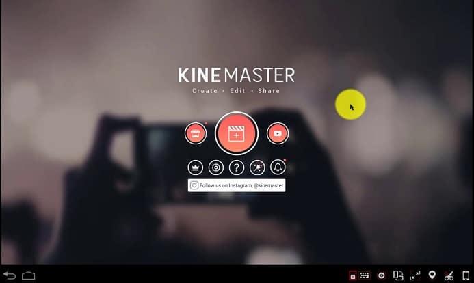 Edit Videos on Bluestacks using Kinemaster