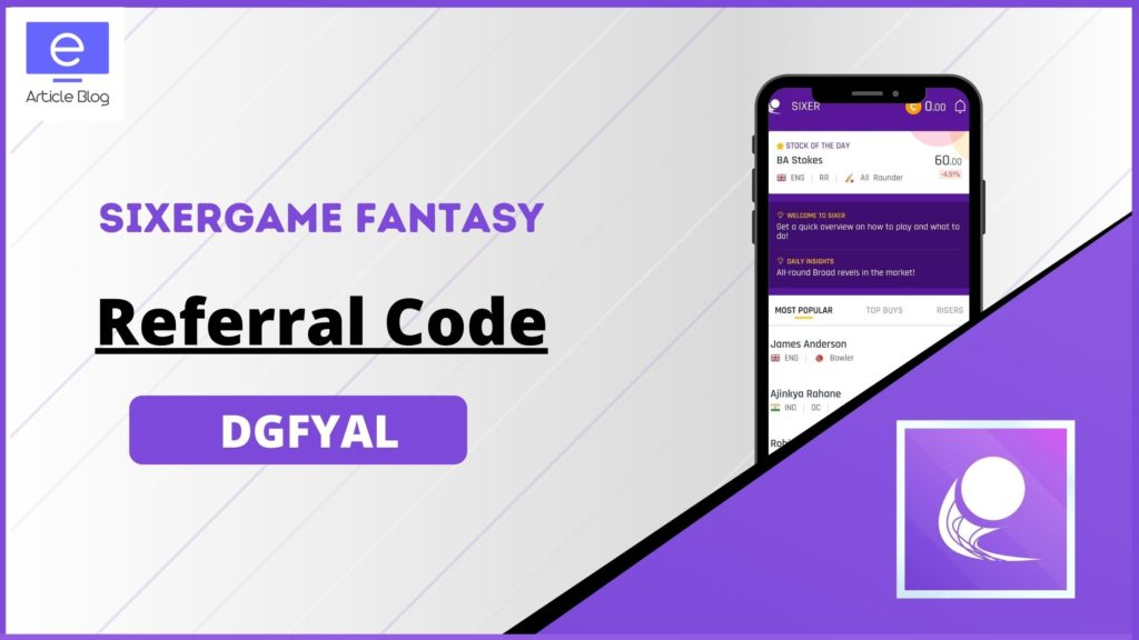 SixerGame Referral Code