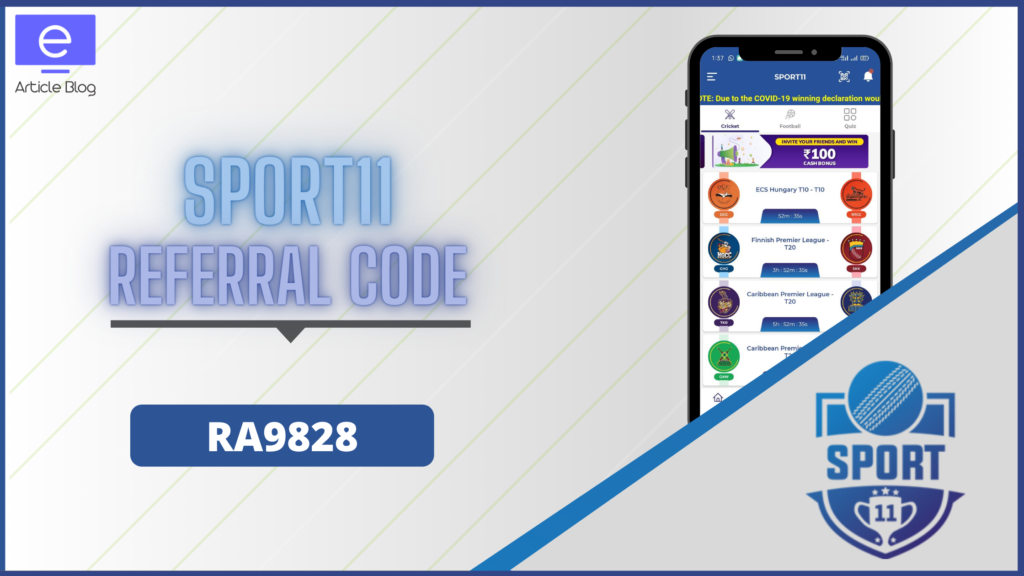 sport11 referral code