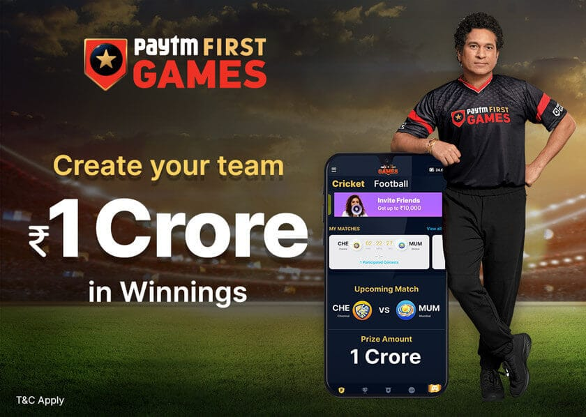 Paytm First Games App