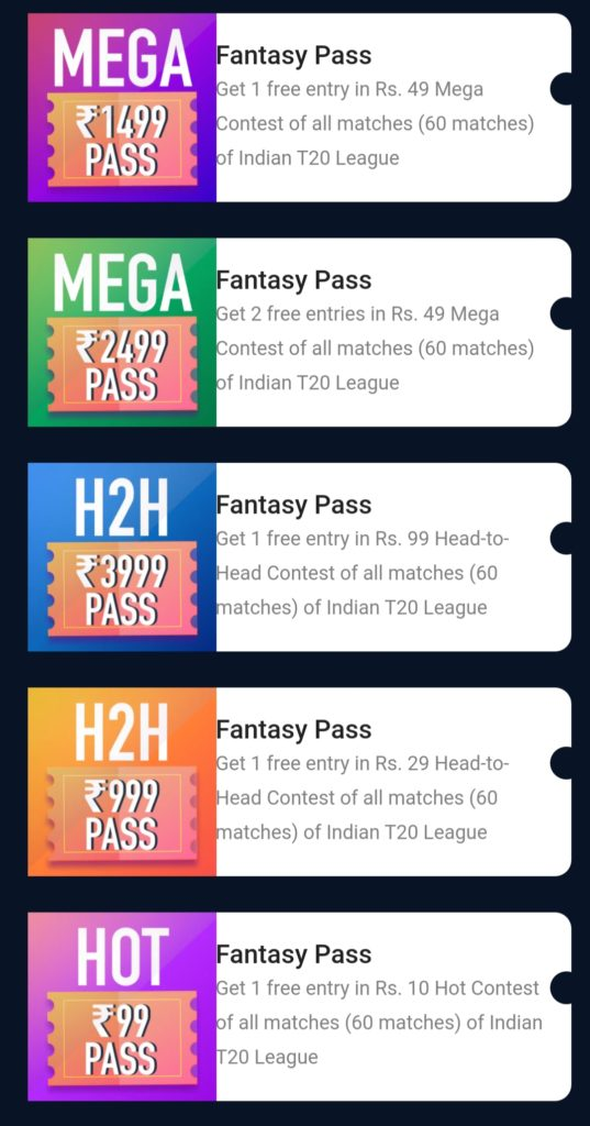 Paytm first games fantasy pass