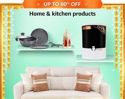 Discount on Home & Kitchen Products