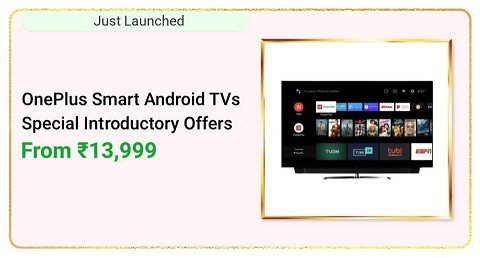 Oneplus Smart Android TVs