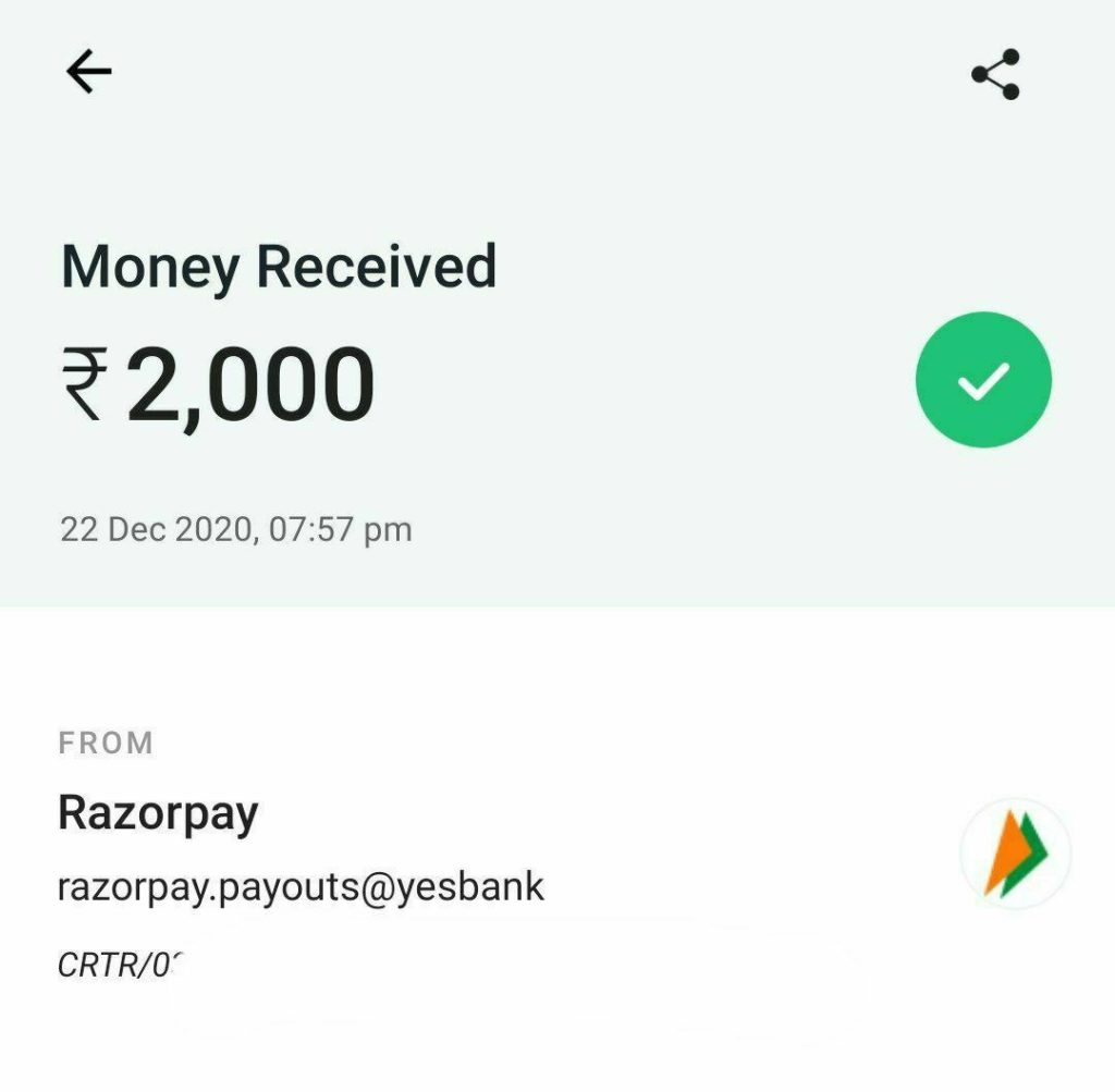 Kuku FM Refer and Earn payment proof
