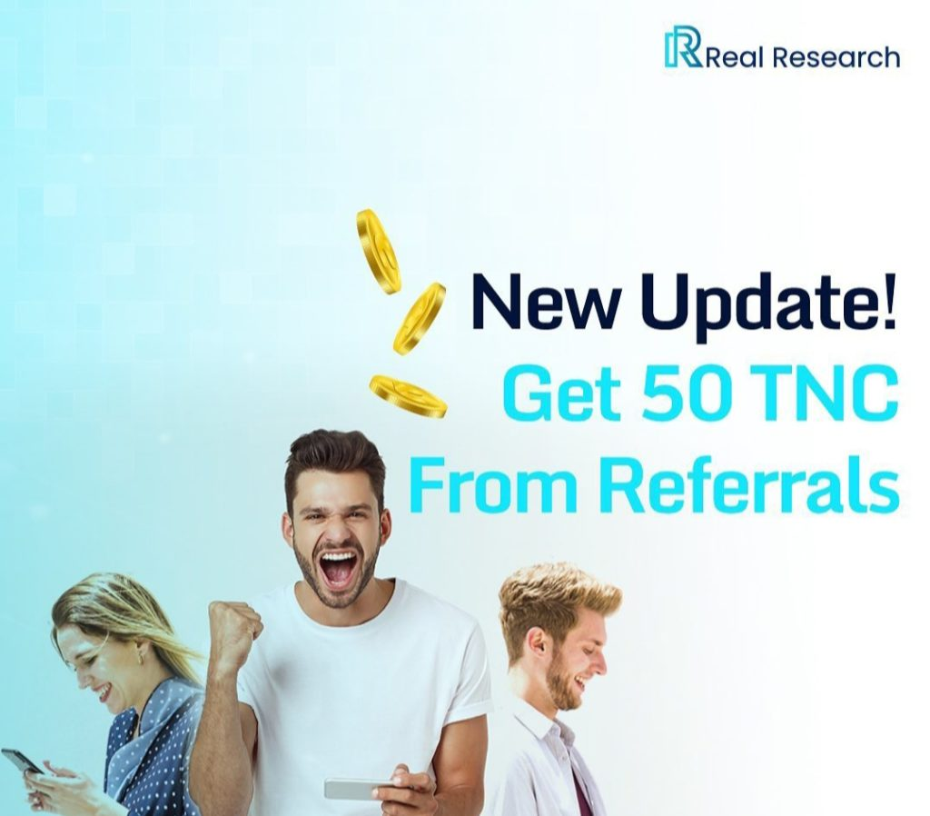 Real Research Referral Code