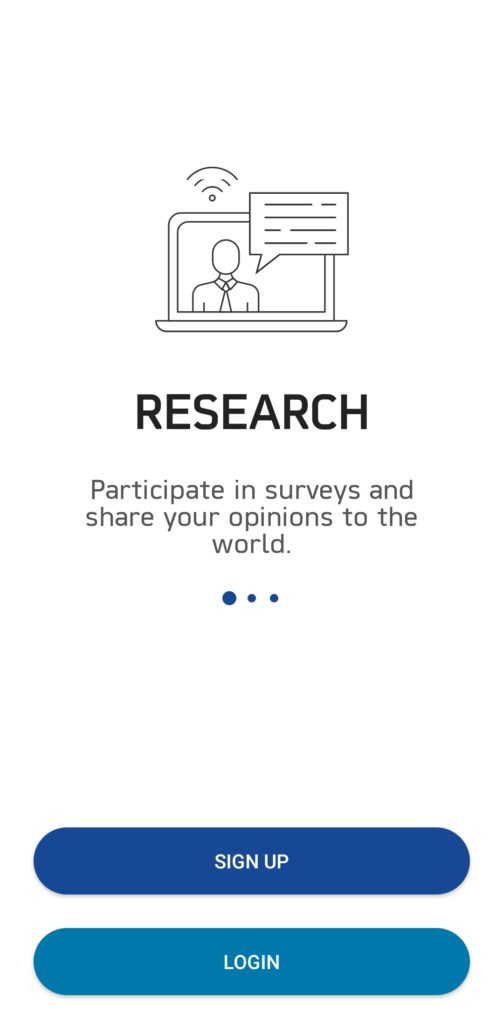 Real Research Signup