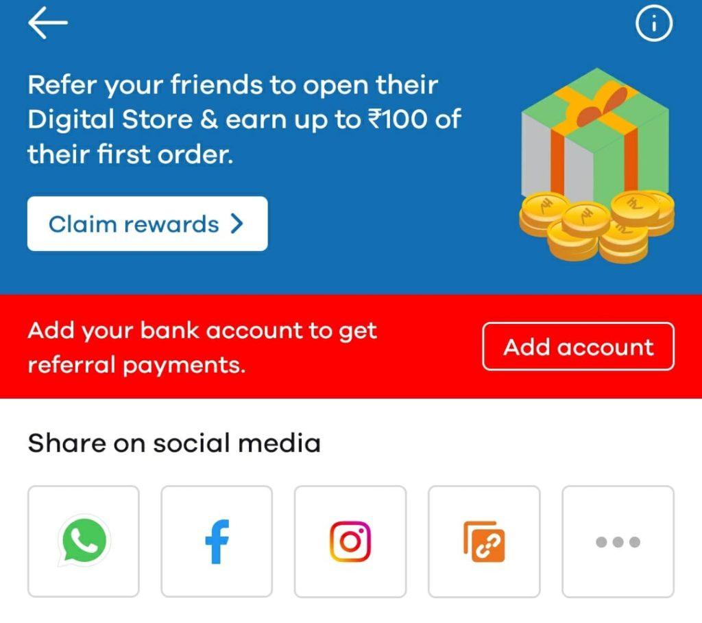 Dukaan app refer earn