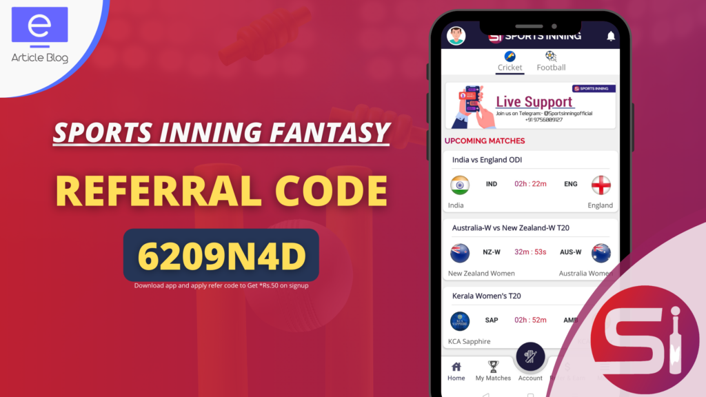 Sports Inning Referral Code (1)