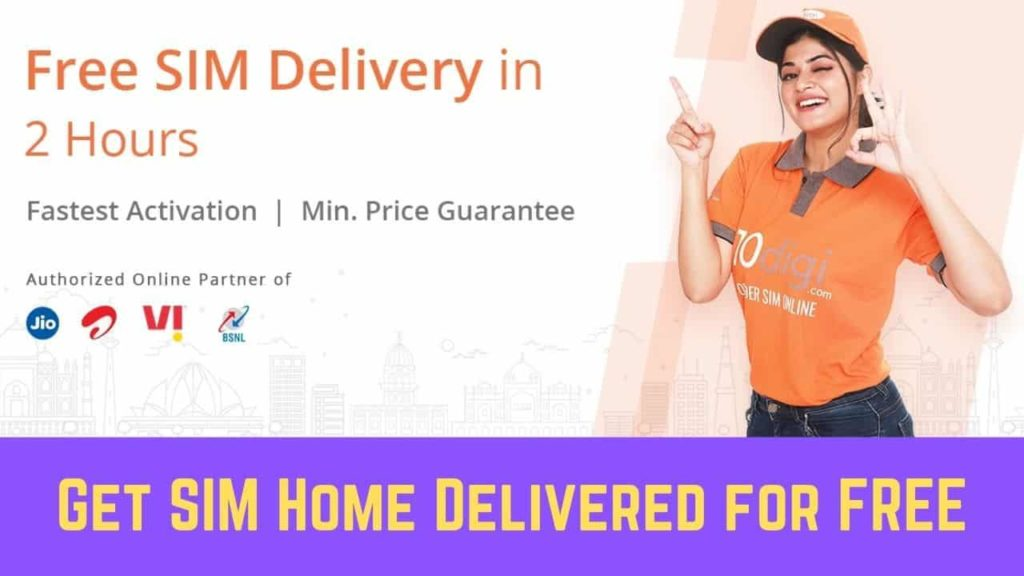 How to Get SIM Home Delivered for Free