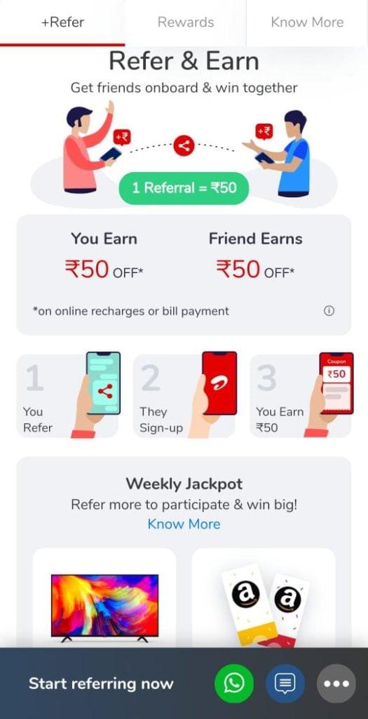 airtel thanks referral code