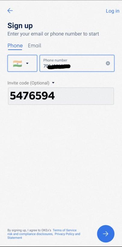 OKEx referral code